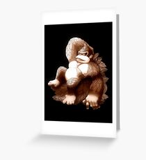 Hellenistic Donkey Kong Greeting Card