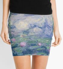 Water Lillies Mini Skirt