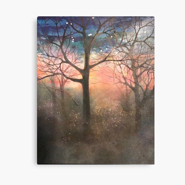 acrylic/mixed media on canvas Canvas Print