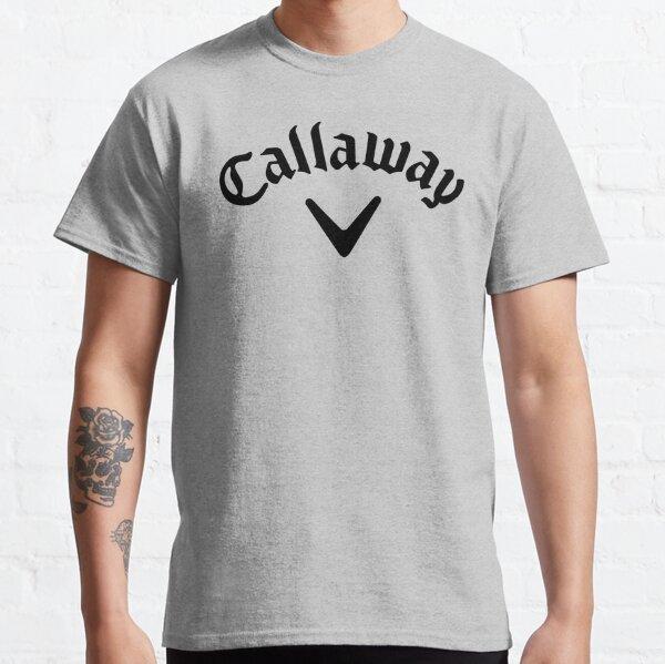 Callaway logo noir T-shirt classique