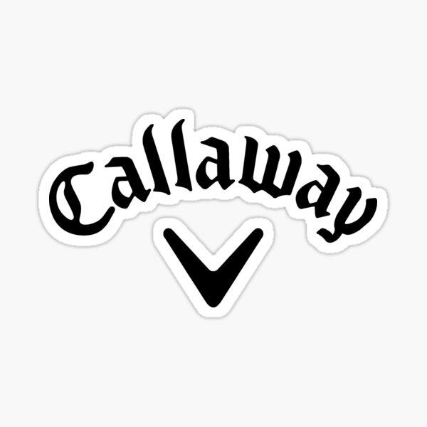 Callaway logo black Sticker