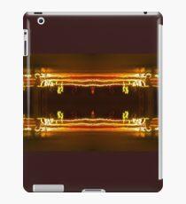 Pillars Of Light And battling sorcerers iPad Case/Skin