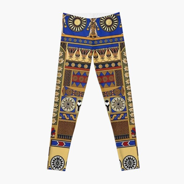 Ancient Assyrian Art Leggings