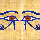 Udjat-Auge I Ägypten  von Anja Semling