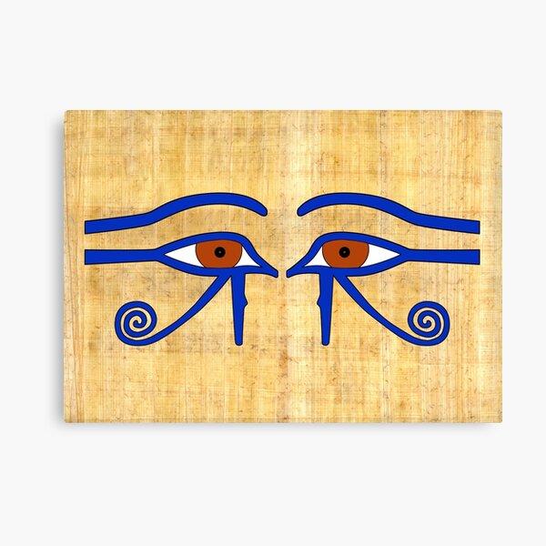 Udjat-Auge I Ägypten  Leinwanddruck