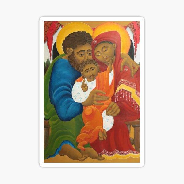 Holy Family Sticker