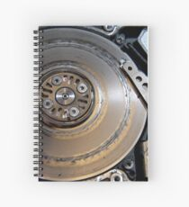 Massive Head Crash Spiral Notebook