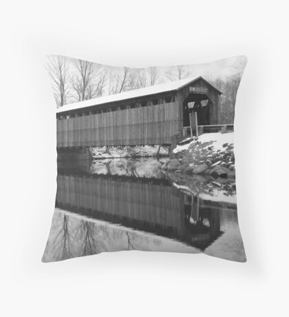 April Snow Brings What? Throw Pillow