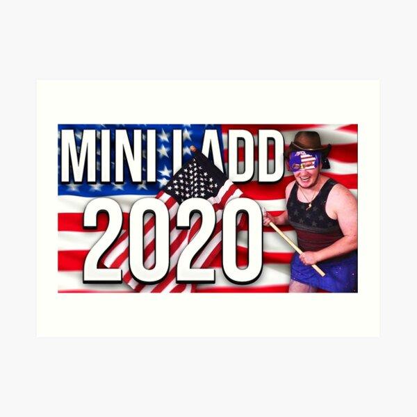 Mini Ladd 2020 Art Print