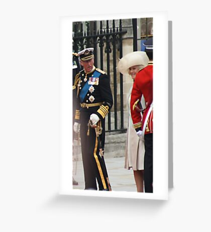 PRINCE OF WALES AND CAMILA PARKER BOWLES Greeting Card