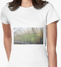 Hydroponic Vegetables Womens Fitted T-Shirt