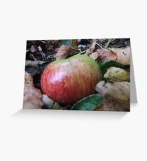 An apple a day. Greeting Card