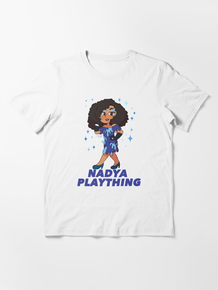 Alternate view of Nadya Plaything Drippy Dress Essential T-Shirt