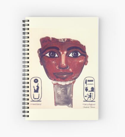 HATSCHEPSUT I Pharaonin von Ägypten Spiralblock