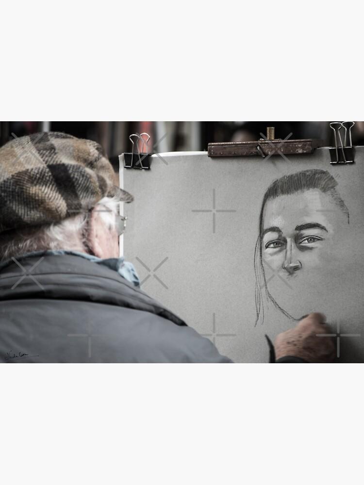 Artist in Montmartre, Paris by cnadia