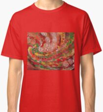 swirling curls abstraction Classic T-Shirt