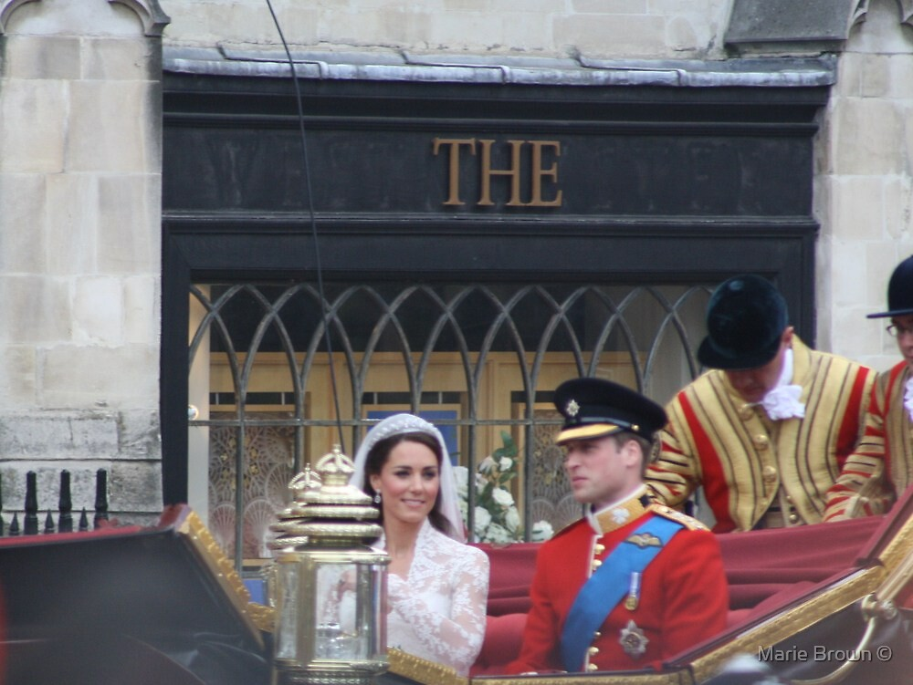 KATE AND WILLIAM  by Marie Brown ©