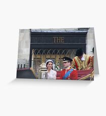 KATE AND WILLIAM  Greeting Card