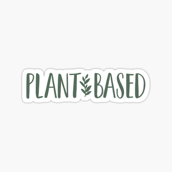 Plant-Based Sticker