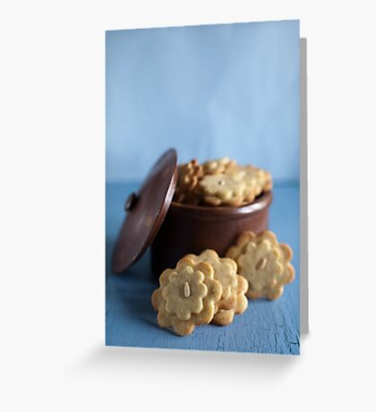 cookie jar Greeting Card