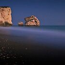 After Dark On Aphrodite's Rock by Aj Finan