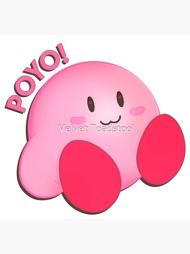 Kirby Poyo Postcard By Rainbowgamer99 Redbubble Poyo rhyming, similar names and popularity. redbubble