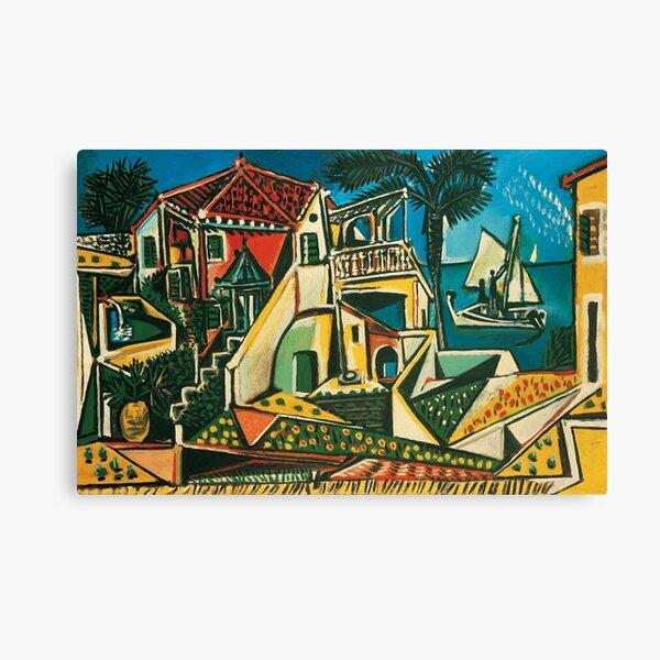 Pablo Picasso Mediterranean Landscape, 1953 Canvas Print