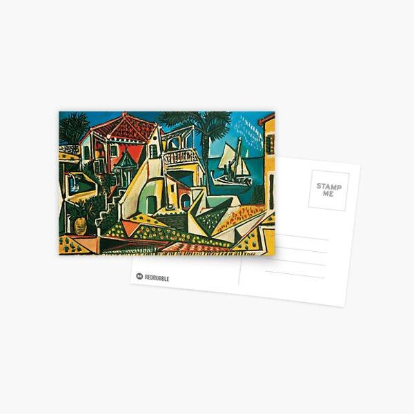 Pablo Picasso Mediterranean Landscape, 1953 Postcard