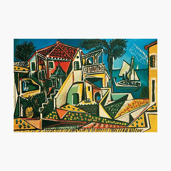Pablo Picasso Mediterranean Landscape, 1953 Photographic Print