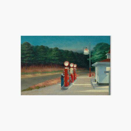 Gas, 1940 by Edward Hopper  Art Board Print