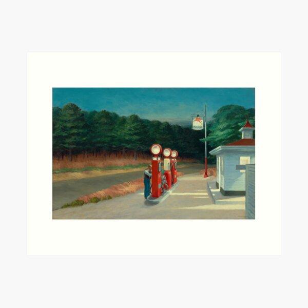 Gas, 1940 by Edward Hopper  Art Print