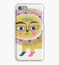 Folk Lion iPhone Case/Skin