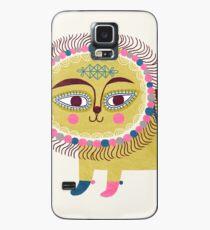 Folk Lion Case/Skin for Samsung Galaxy