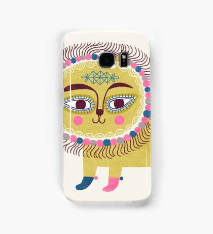 Folk Lion Samsung Galaxy Case/Skin