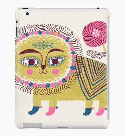 Folk Lion iPad Case/Skin