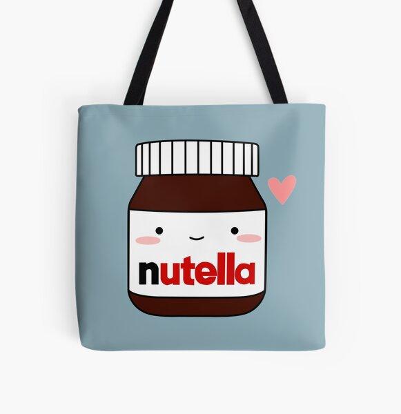 Cute Nutella jar All Over Print Tote Bag