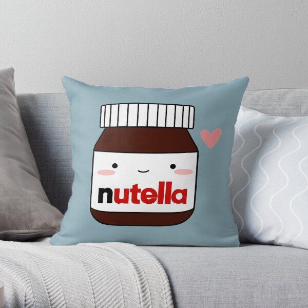 Lindo frasco de Nutella Cojín