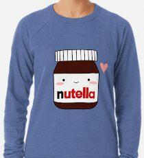 Nettes Nutella-Glas Leichter Pullover