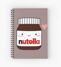 Nettes Nutella-Glas Spiralblock