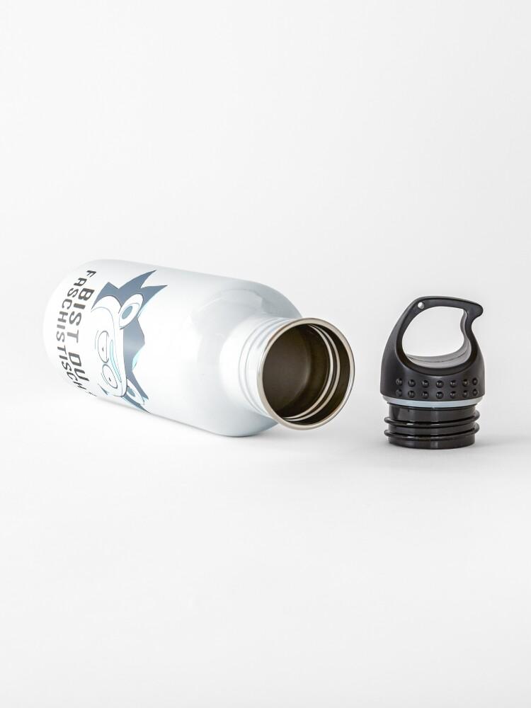 Alternate view of Bist Du Faschistisch? Water Bottle