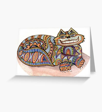 the Cheshire, Lily Greeting Card