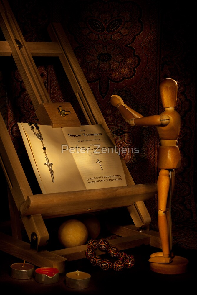 The Conversion of a Wooden Dummy by Peter Zentjens