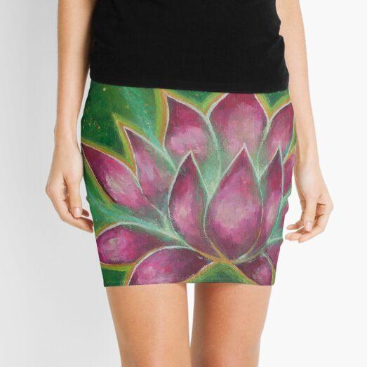 Magic Lotus Mini Skirt