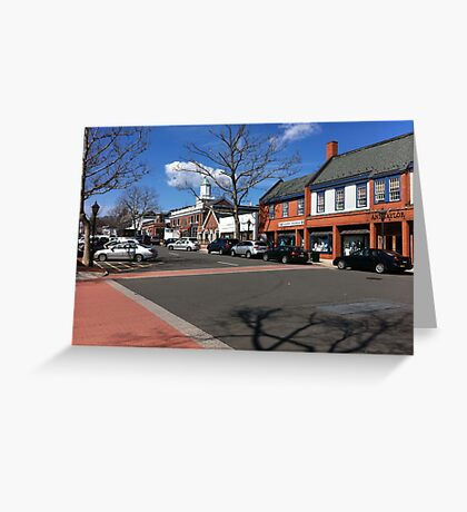 A Charming World Tucked Away In New England Greeting Card