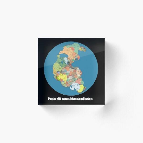 National Pangea Acrylic Block