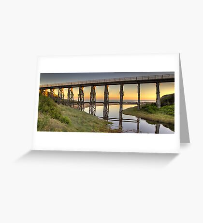 Kilcunda Rail Bridge • Victoria Greeting Card