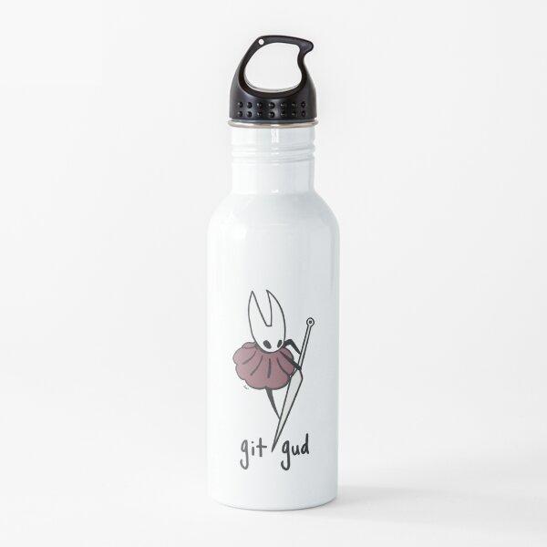 avispón git gud Botella de agua