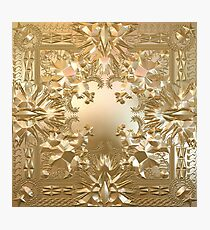 Watch the Throne Photographic Print