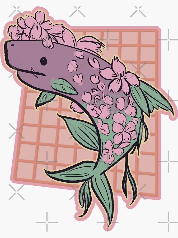 Floral Shark by glemiarts