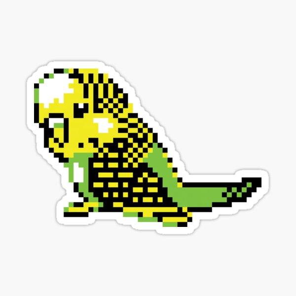 Budgie sprite Sticker